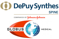 J&J's Synthes wins another round against Globus, ex-sales rep